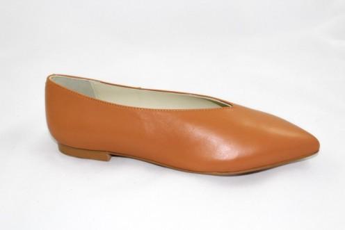 Zapato emmy punta marron