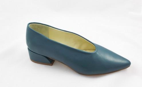 Zapato viva turquesa