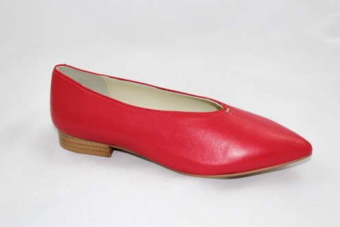 Zapato janina rojo